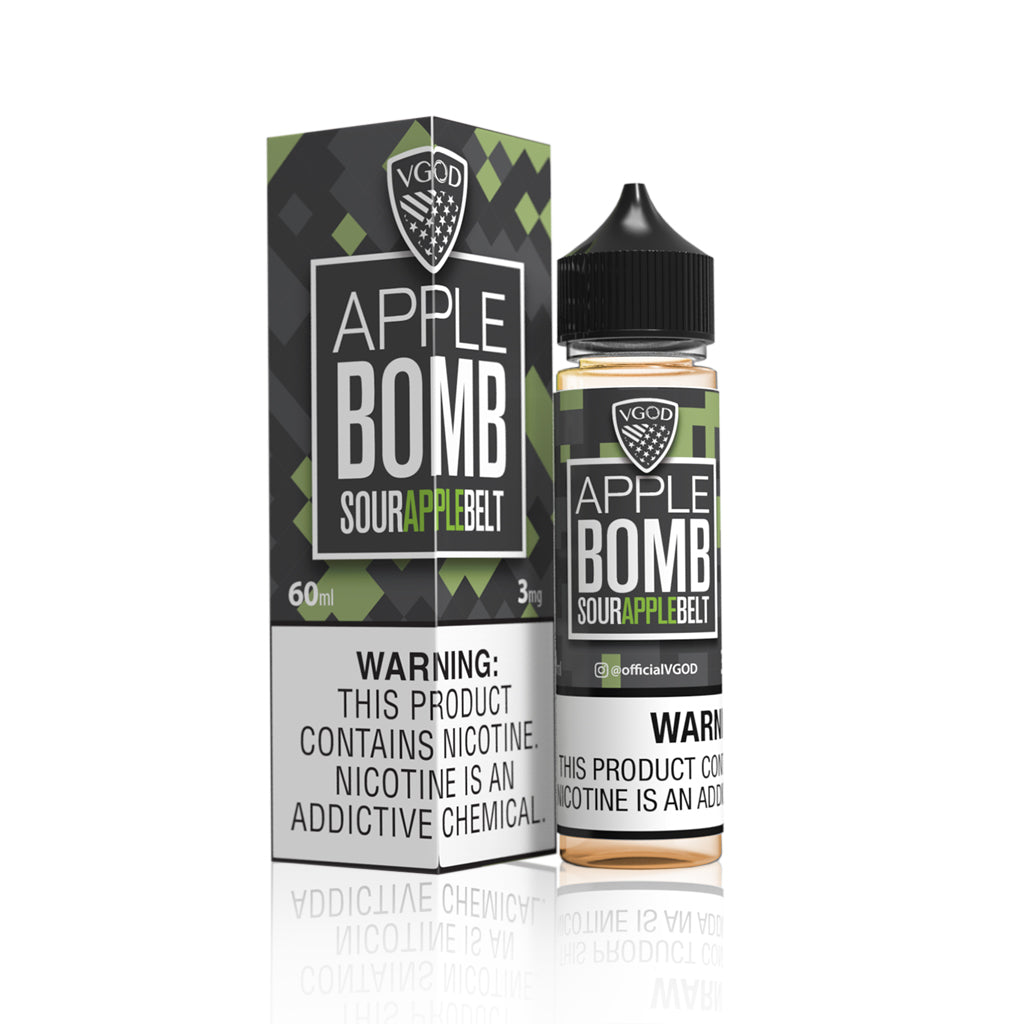Apple Bomb  - VGOD Bomb Salt Nic E Liquid
