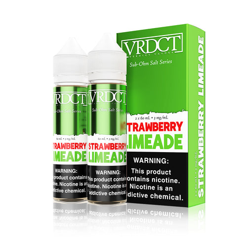 Strawberry Limeade - Verdict Vapors