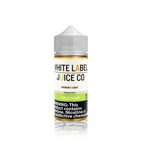 Vanilla Custard  - White Label Juice Co.