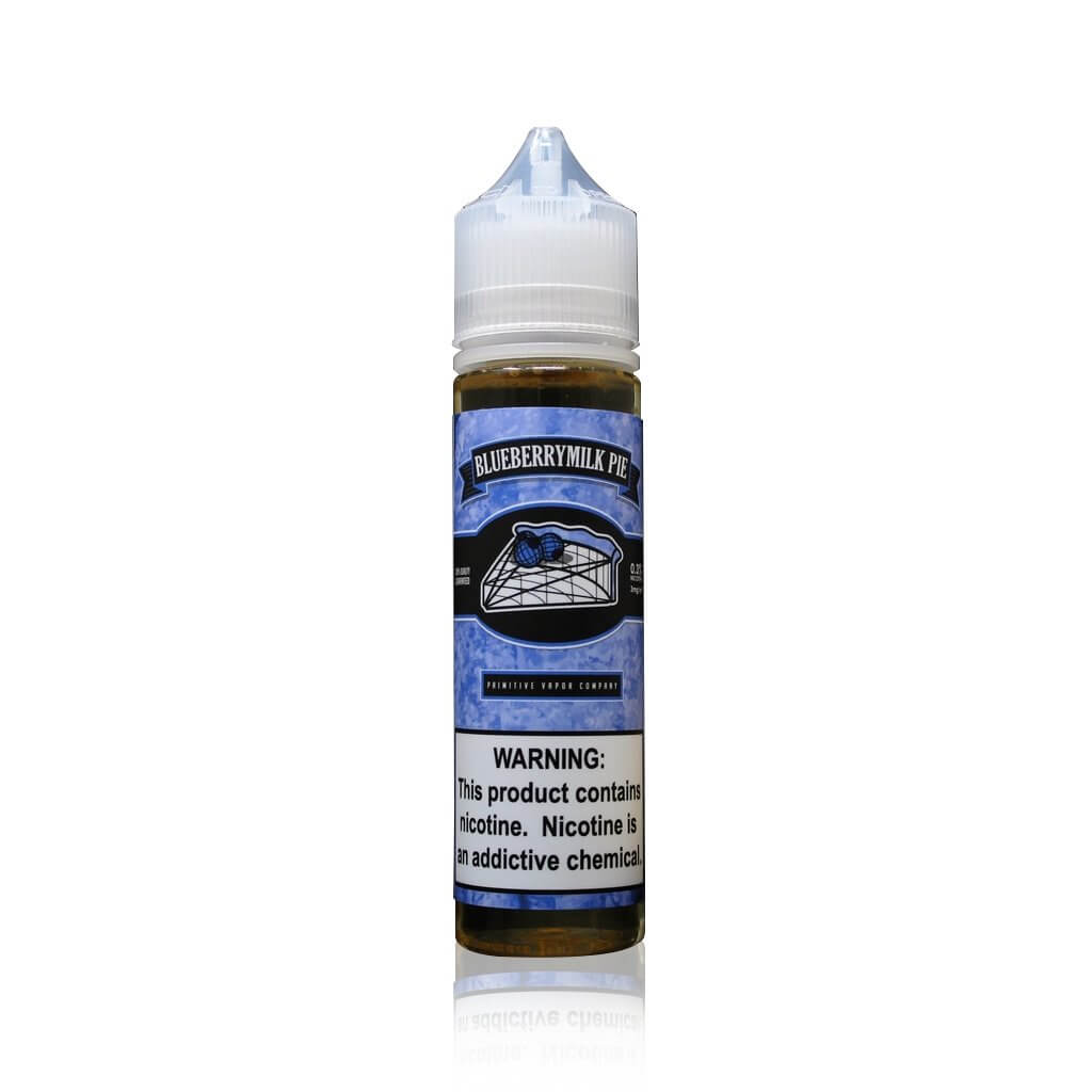 Blueberry Milk Pie - Primitive Vapor Co. E Liquid
