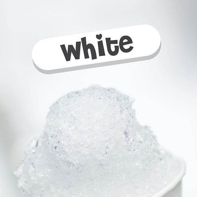 White - Snow Cone E Liquids - Breazy Wholesale