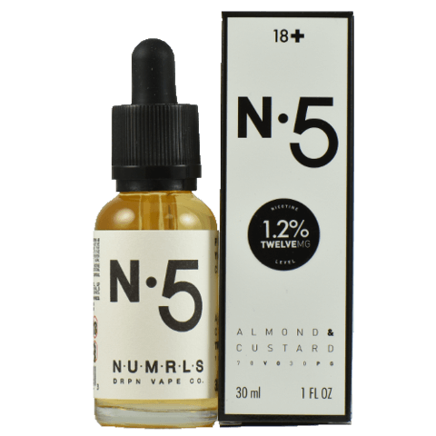 No. 5 – Numrls E Liquid - Breazy Wholesale