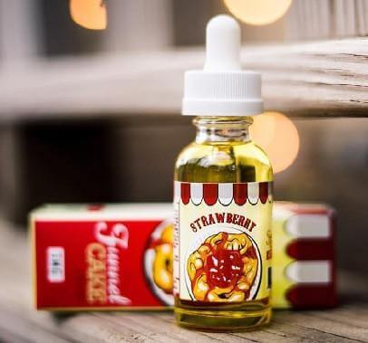 Strawberry - Funnel Cake E Liquid - Breazy Wholesale