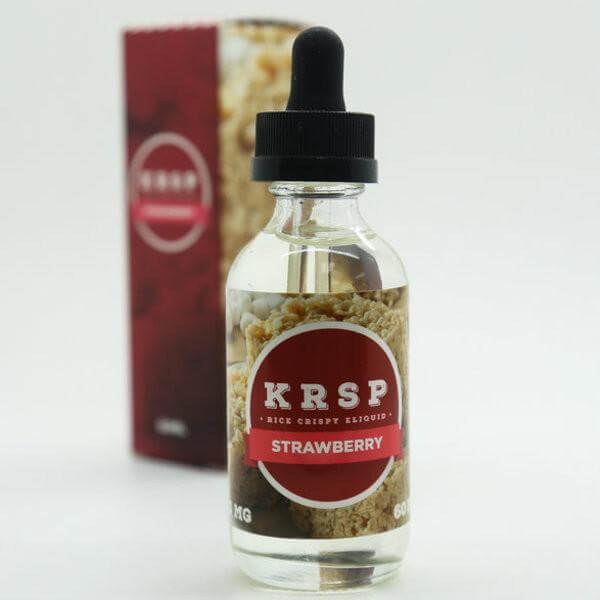 Strawberry Rice Crispy - KRSP E Liquid - Breazy Wholesale