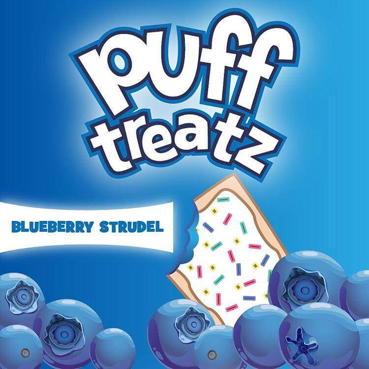 Frosted Blueberry - Puff Treatz E Liquid - Breazy Wholesale