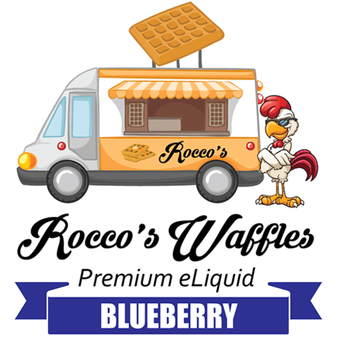Blueberry - Rocco's Waffles E Liquid - Breazy Wholesale