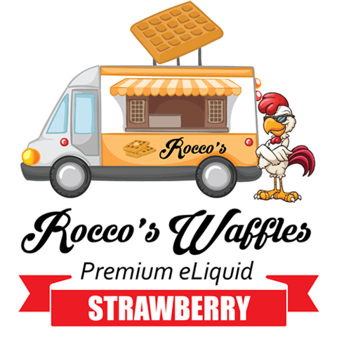 Strawberry - Rocco's Waffles E Liquid - Breazy Wholesale