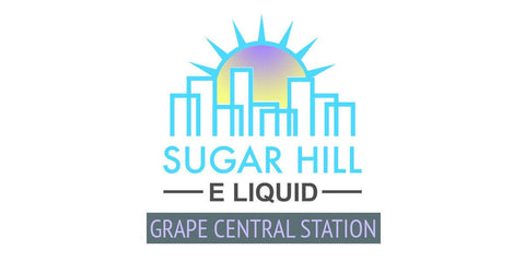 Grape Central Station - Sugar Hill E Liquid - Breazy Wholesale