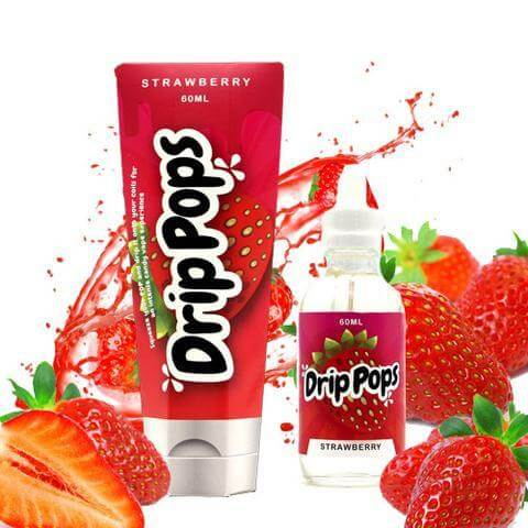 Strawberry Drip Pops - Vape 7 Daze E Liquid - Breazy Wholesale