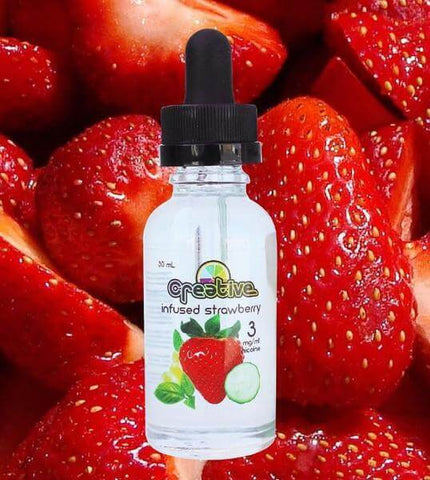 Infused Strawberry - Creative E Liquid