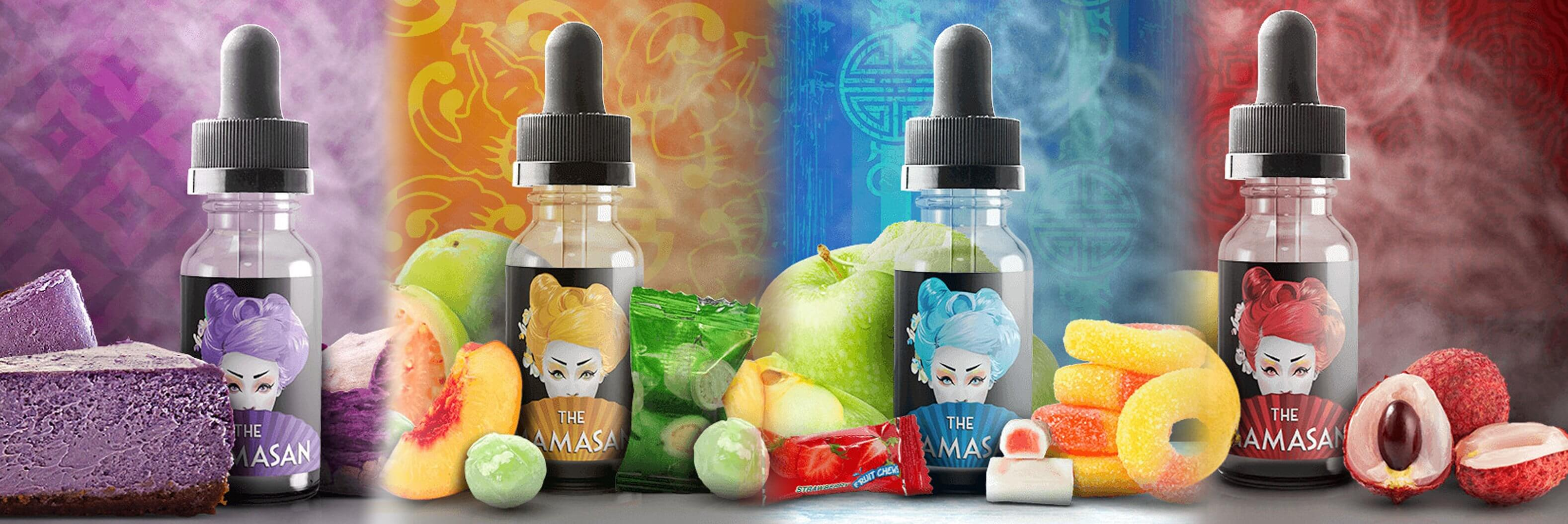 Mamasan E Liquid (Sample Pack) - Mamasan E Liquid