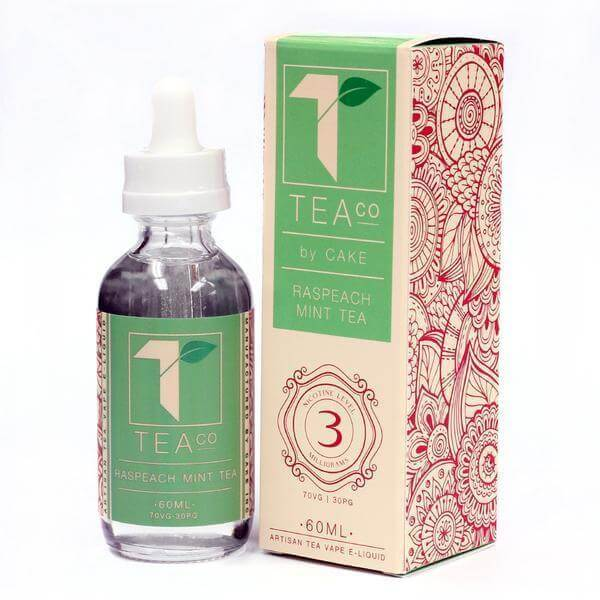 Raspeach Mint Tea - Tea Co. E Liquids