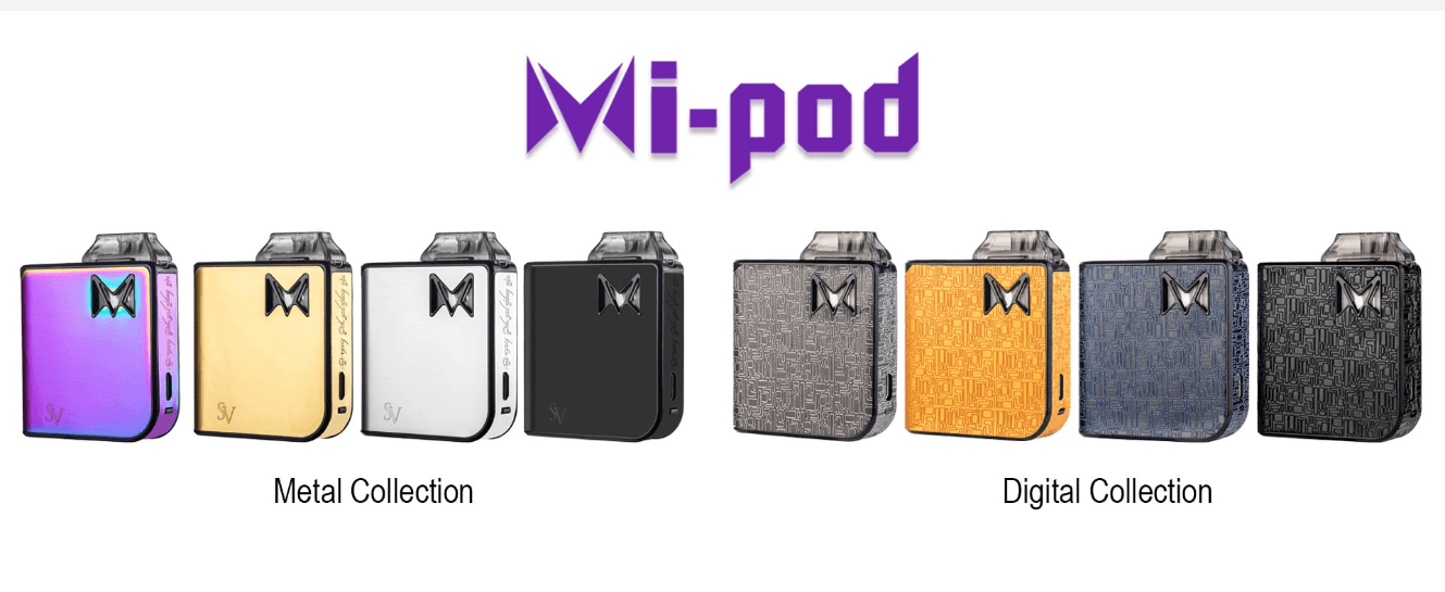 Mi-Pod Starter Kit - Smoking Vapor - Hardware - Breazy