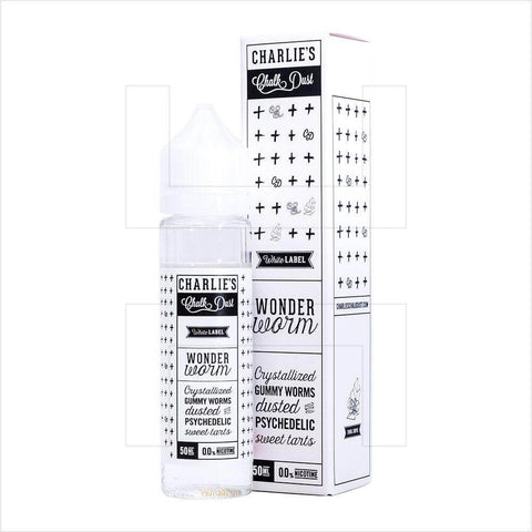 Wonder Worm - Charlie's Chalk Dust White Label E Liquid