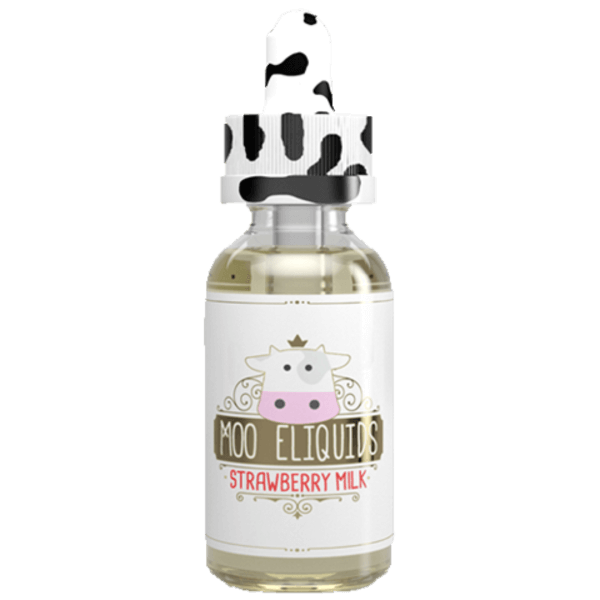 Strawberry Milk E Liquid - Moo Eliquids