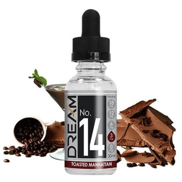 #14 Toasted Manhattan - DREAM E Liquid
