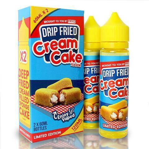 Drip Fried Cream Cake - FRYD E Liquid