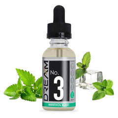 #3 Menthol Blast - DREAM E Liquid