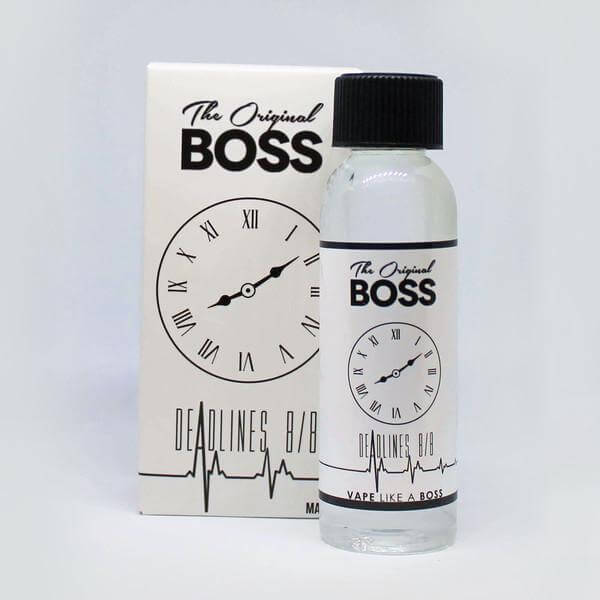The Original Boss - Deadlines 8/8 - Diamond Vapor