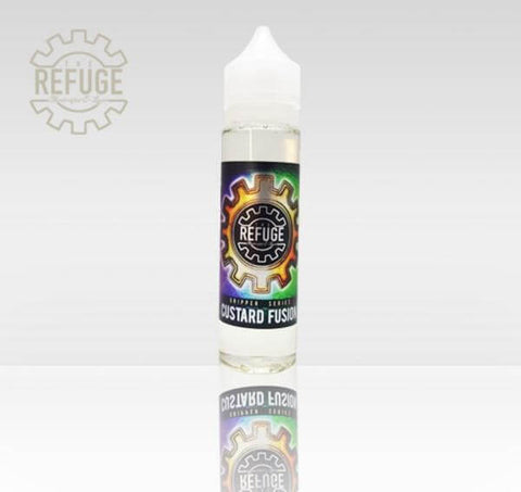 Custard Fusion - The Refuge Dripper Series E Liquid