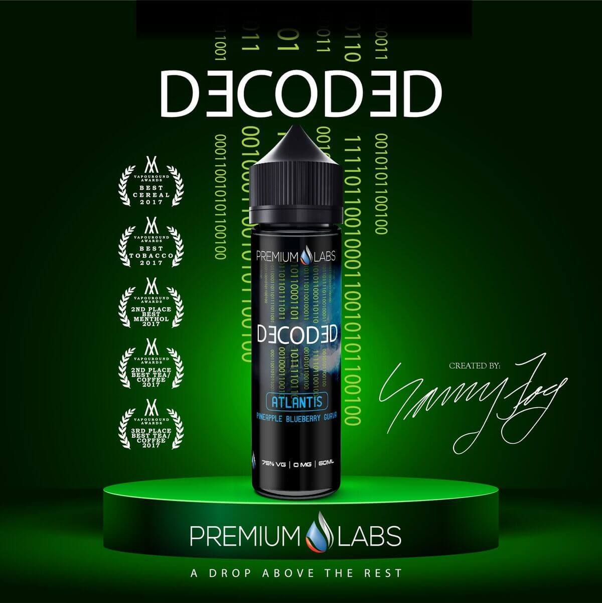 Atlantis - Decoded E Liquid