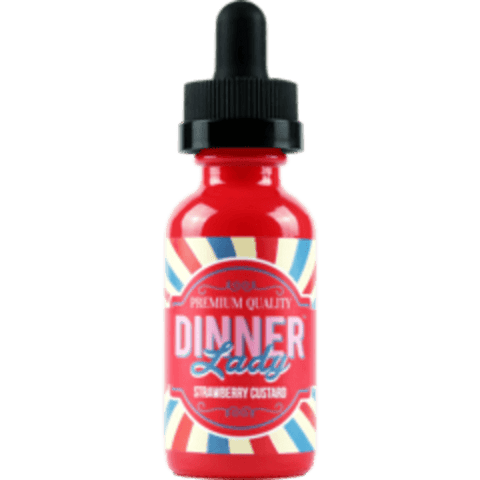 Strawberry Custard - Dinner Lady E Liquid