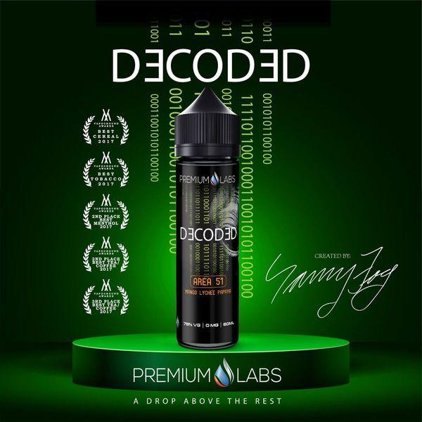 Area 51 - Decoded E Liquid