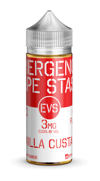 Vanilla Custard - Emergency Vape Stash E Liquid