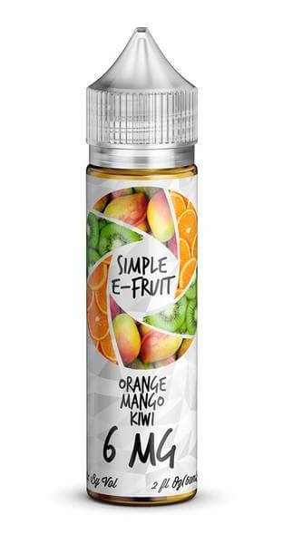 Orange Mango Kiwi - Simple E-Fruit E Liquid