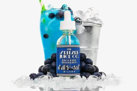 Brooklyn Blueberry - Seltzer Juice Co. E Liquid