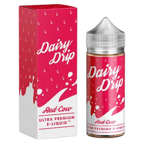 Red Cow - Dairy Drip E Liquid
