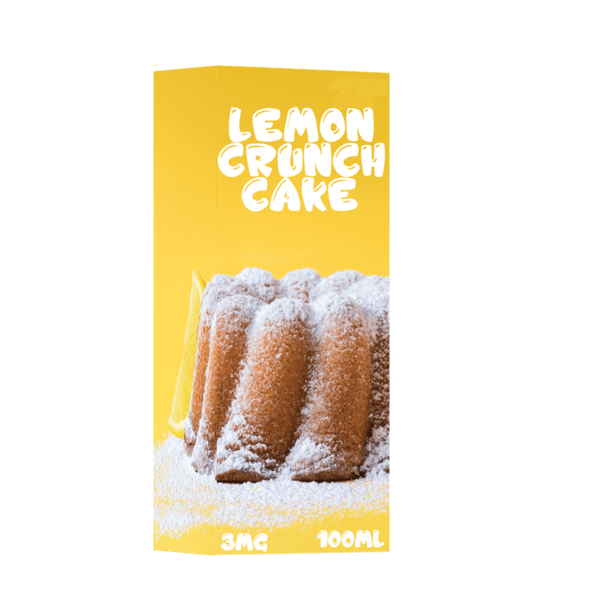 Lemon Crunch Cake - Lemon Crunch Cake E Liquid