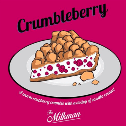 Crumbleberry - The Milkman E Liquid
