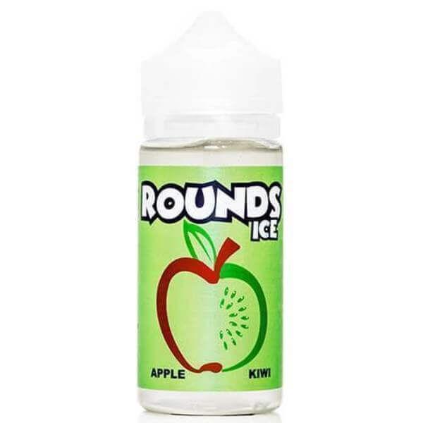 Apple Kiwi Ice - Rounds E Liquid