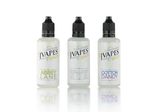 Jvapes E Liquid Bundle #1 - Jvapes E Liquid