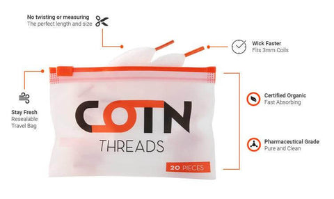 COTN Threads (20pcs per pack) - COTN