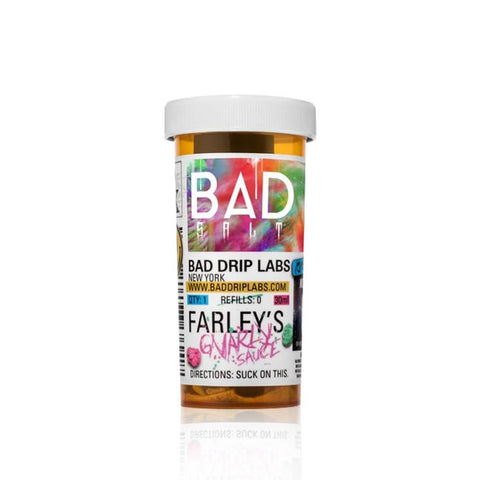 Farley's Gnarly Sauce - Bad Drip Salts E Liquid