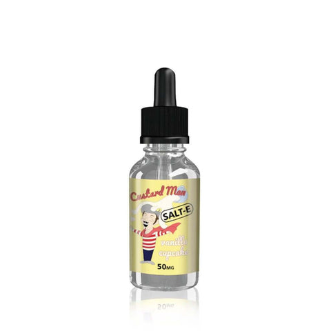 Vanilla Cupcake - Custard Man Salt E Liquid