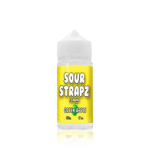 Green Apple - Sour Strapz E Liquid