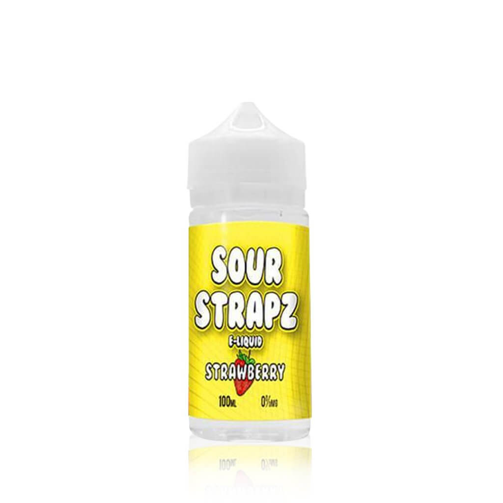 Strawberry - Sour Strapz E Liquid