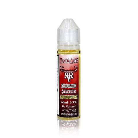 Chocolate Strawberry Cheesecake - River Rock E Liquid