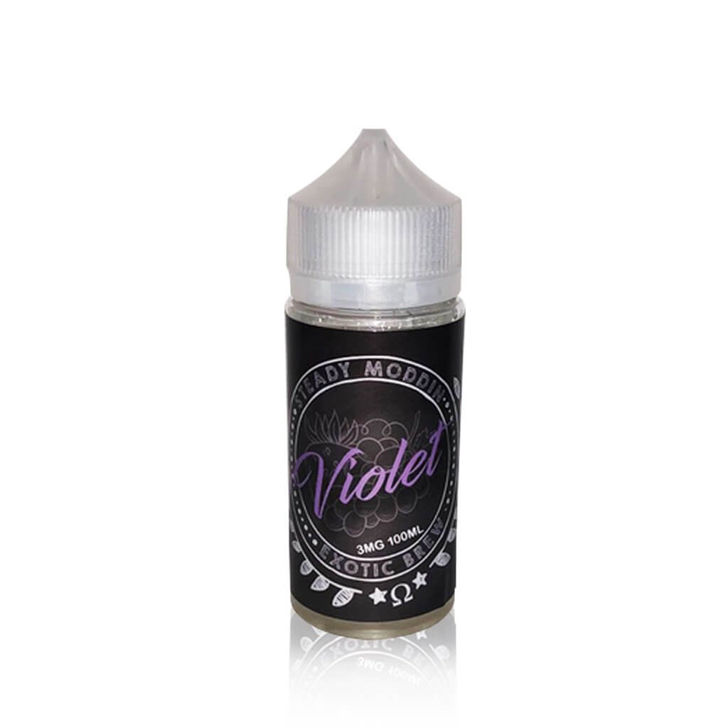 Violet - Steady Moddin's Exotic Brew E Liquid