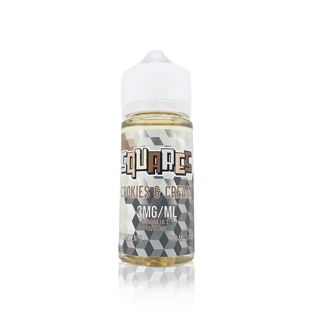 Cookies and Cream - Squares E Liquid