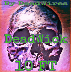 Deadwick Cotton 10 Foot - Dead Wires