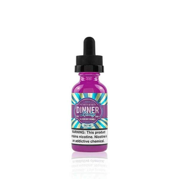 Blackberry Crumble (Salt E Liquid) - Dinner Lady E Liquid