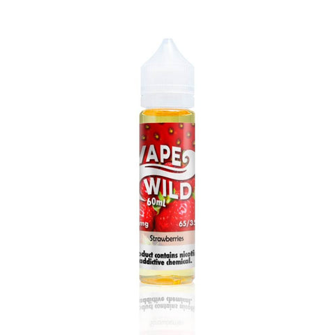Strawberries - VapeWild E Liquid