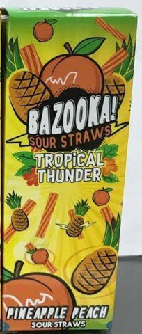 Pineapple Peach - Bazooka Sour Straws E Liquid