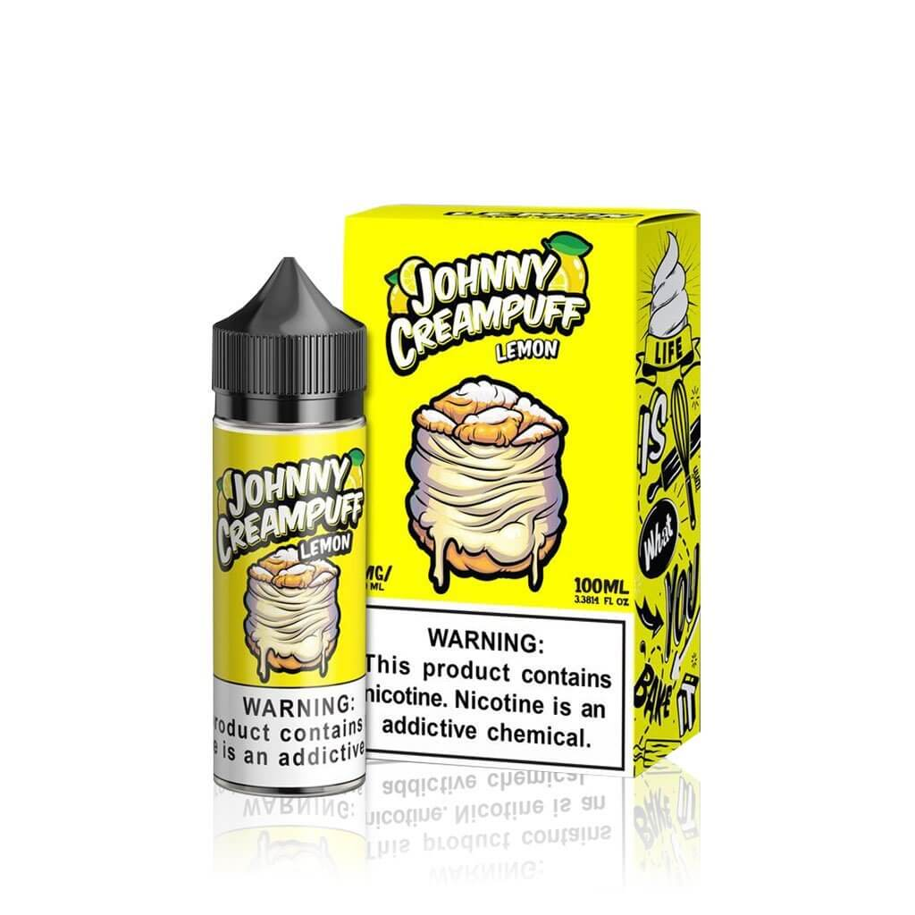 Lemon - Johnny Cream Puff E Liquid