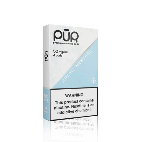 Arctic Menthol Pur Pods (4 Pack) - Liquid EFX Salt E Liquid