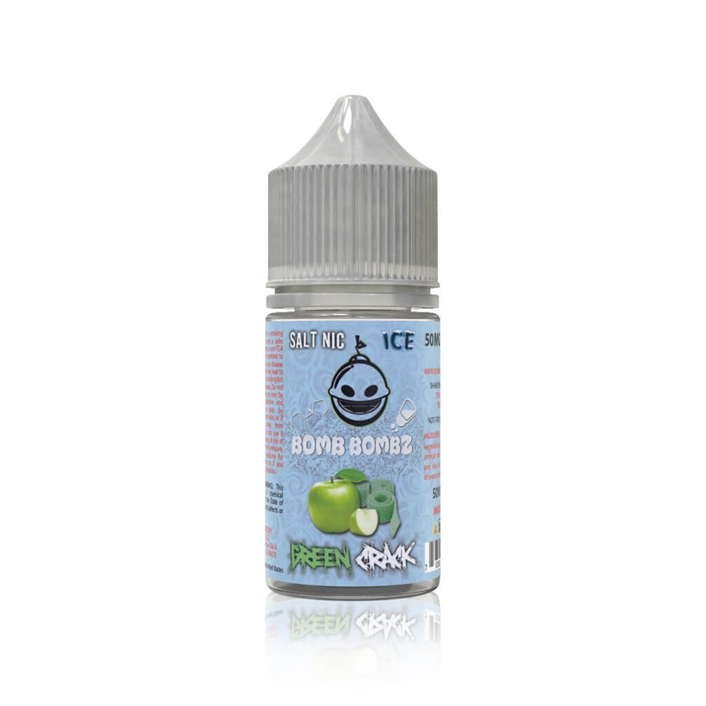 Green Crack - Bomb Bombz Ice Salt E Liquid